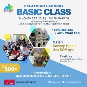 Pelatihan-Laundry-Basic-Class-Nov-19