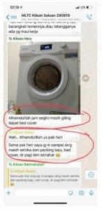 testimoni pelatihan laundry