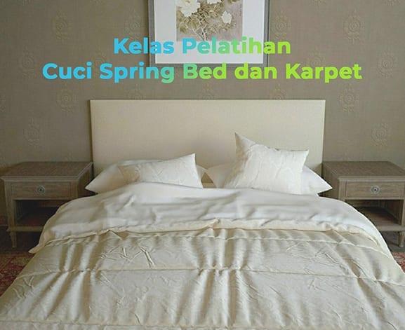 Kelas-pelatihan-Cuci-Spring-Bed-dan-Karpet