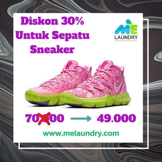 Laundry Sepatu Sneaker