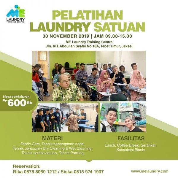 Pelatihan Laundry Satuan
