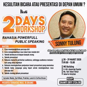 Rahasia Powerfull Public Speaking
