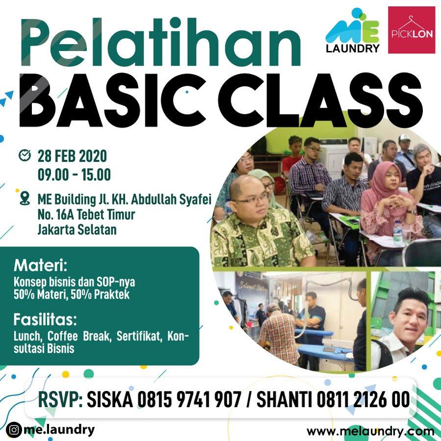 Pelatihan Laundry Basic Class