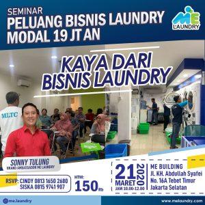 Seminar Peluang Bisnis Laundry