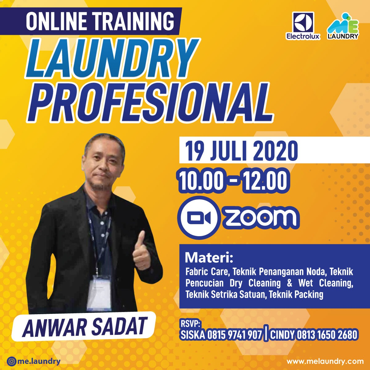 Online Training Laundry Profesional